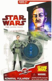 Clone Wars 2008 - Red Card - Admiral Yularin
