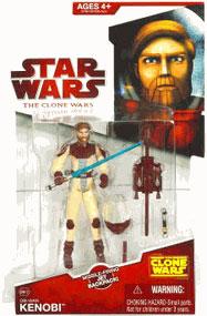 Clone Wars 2008 - Red Card - Obi-Wan Kenobi in Space Suit CW12