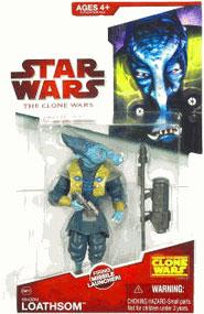 Clone Wars 2008 - Red Card - Whorm Loathsom