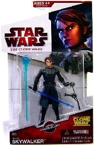 Clone Wars 2009 - Red Card - Anakin Skywalker