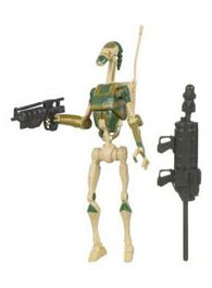 Clone Wars 2009 - Red Back AAT Driver Battle Droid