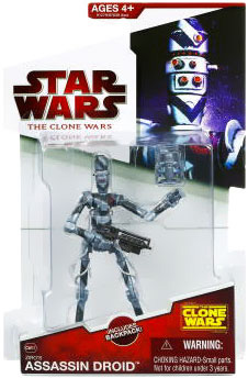 Clone Wars 2009 - Red Back Zirco Assassin Droid
