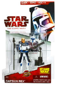 Clone Wars 2009 Red Back - Captain Rex