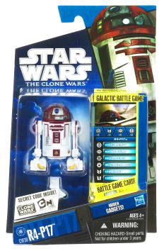 Star Wars Clone Wars 2010 - Black and Blue - R4-P17 CW30