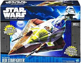 Clone Wars 2011 Black and Blue Box - Kit Fisto Jedi Starfighter