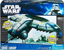 Clone Wars 2011 Black and Blue Box - Separatist Droid Gunship