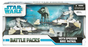 Battle Pack - Hoth Speeder Bike Patrol