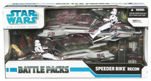 Battle Pack - Clone Wars: Speeder Bike Recon