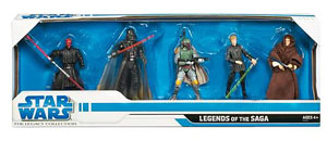 Exclusive Star Wars Legends of the Saga