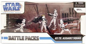 Battle Packs - AT-TE Assault Squad