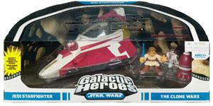 Cinema Scene - Obi-Wan Kenobi Jedi Starfighter