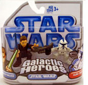 Clone Wars Galactic Heroes - Anakin and Blue Clone Trooper