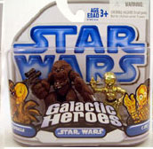 Clone Wars Galactic Heroes - Chewbacca and C-3PO