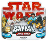 Galactic Heroes - Luke and Lando RED