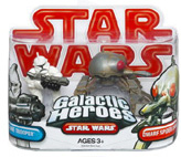 Galactic Heroes - Clone Trooper AND Dwarf Spider Droid RED