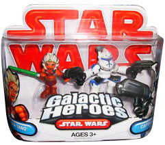 Galactic Heroes - Captain Rex and Ahsoka Tano RED