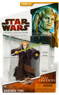 Clone Wars 2009 Red Packaging - Saga Legends - Saesee Tin