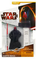 Clone Wars 2009 Red Packaging - Saga Legends - Darth Maul