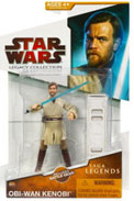 Clone Wars 2009 Red Packaging - Saga Legends - Obi-Wan Kenobi