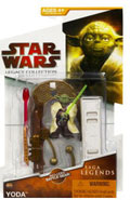 Clone Wars 2009 Red Packaging - Saga Legends - Yoda