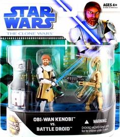 Clone Wars Movie 2-Pack: Obi-Wan Kenobi and Battle Droid
