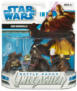 Star Wars Battle Packs Unleashed: The Clone Wars Heroes and Villains ? Jedi Generals