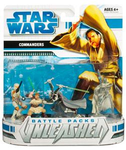 Star Wars Clone Wars Battle Packs Unleashed - Commanders
