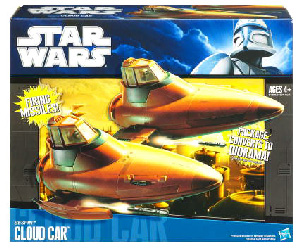 Clone Wars 2009 Black and Blue Box - Cloud Car