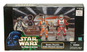 Rebel Pilots: Ten Numb, Wedge Antilles, and Arvel Crynyd