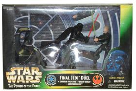 Final Jedi Duel Diorama