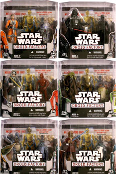 Star Wars Droid Factory - 2-Pack Set of 6 [Build C-3PX]
