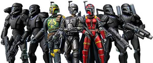 Exclusive - Mandalorians and Omega Squad Set