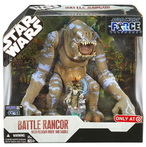 Battle Rancor With Felucian Rider and Saddle Exclusive