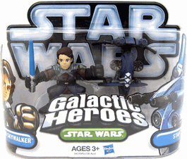 Galactic Heroes 2010 - Anakin and Stap SILVER
