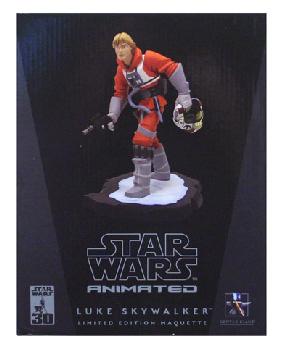 Gentle Giant - Luke X-Wing Pilot Animated Maquette Statue