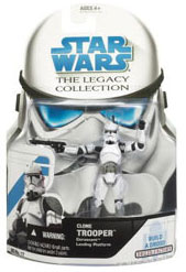 SW Legacy Collection - Build a Droid - Coruscant Landing Platform clone Trooper