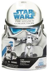 SW Legacy Collection - Build a Droid - Coruscant Landing Platform clone Trooper