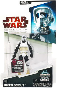 SW Legacy Collection - Build a Droid - Scout Trooper[Red Pkg]
