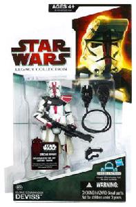 SW Legacy Collection - Build a Droid - Commander Deviss