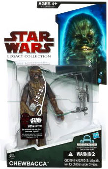 SW Legacy Collection - Build a Droid - Black Card - Chewbacca