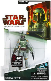 SW Legacy Collection - Build a Droid - Black Card - Boba Fett