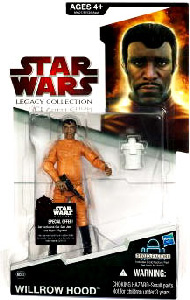 SW Legacy Collection - Build a Droid - Black Card - Willrow Hood