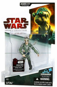 SW Legacy Collection - Build a Droid - Black Card - Utai