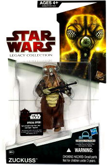SW Legacy Collection - Build a Droid - Black Card - Zuckuss