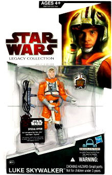 SW Legacy Collection - Build a Droid - Black Card - Luke Skywalker In Snowspeeder Suit