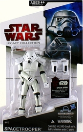 SW Legacy Collection - Build a Droid - Black Card - Spacetrooper