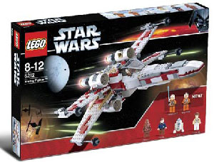 LEGO Star Wars - Exclusive Limited Edition X-Wing Fighter 6212