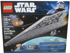LEGO Star Wars - Super Star Destroyer - 10221