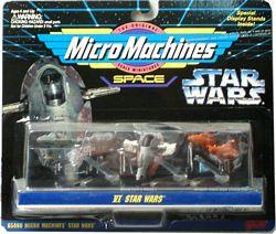 Star Wars Collection VI - Escort Frigate, Boba Fett Slave, Bespin Twin-Pod Cloud Car.