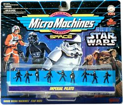 Star Wars MicroMachine Imperial Pilots